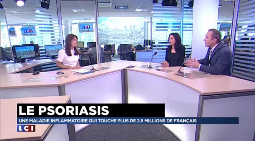 Le psoriasis, les médias en parlent